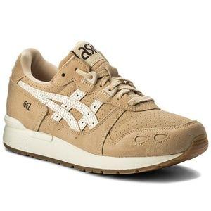 ASICS TIGER GEL-LYTE Cream/White Athletic Shoes